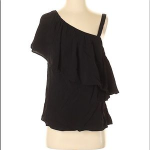 NWT One-shoulder Sleeve Blouse